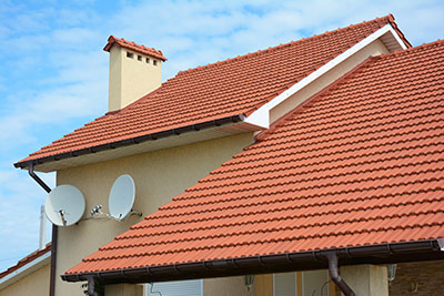 Clay Tiled Roofing Installation In Fort Worth TX